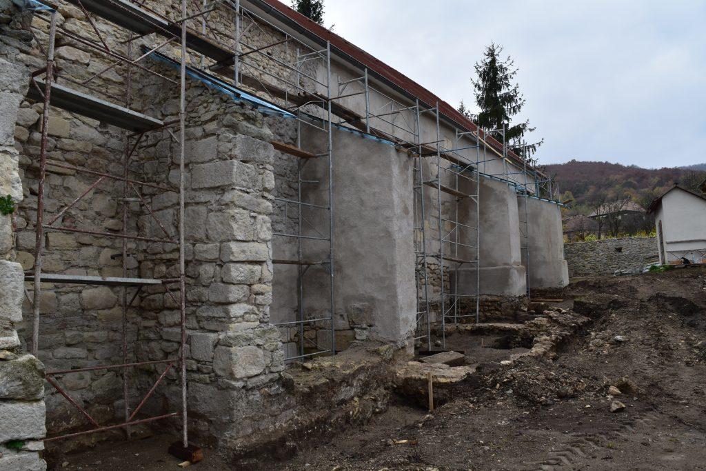 Unitarian Church Under Restoration