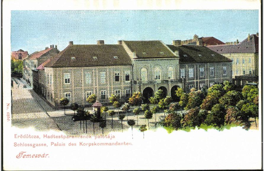 Temesvár - Imperial Army Headquarter