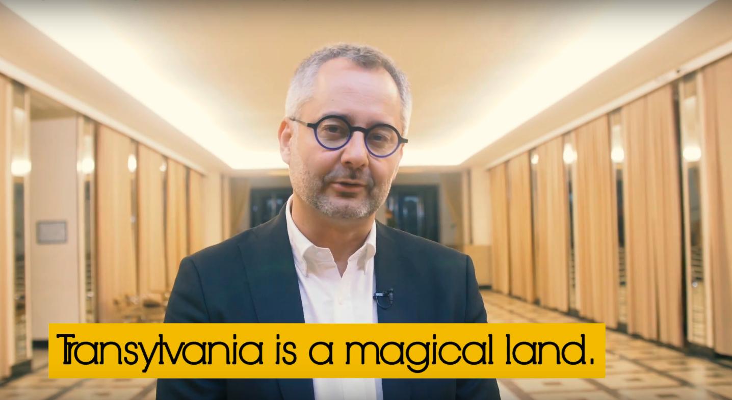 A video message from Albert-László Barabási