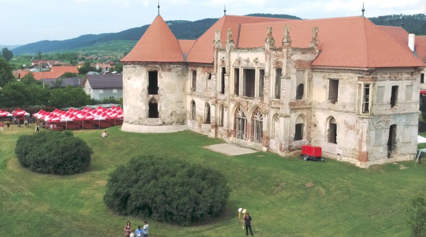 The Bánffy Castle in Bonchida
