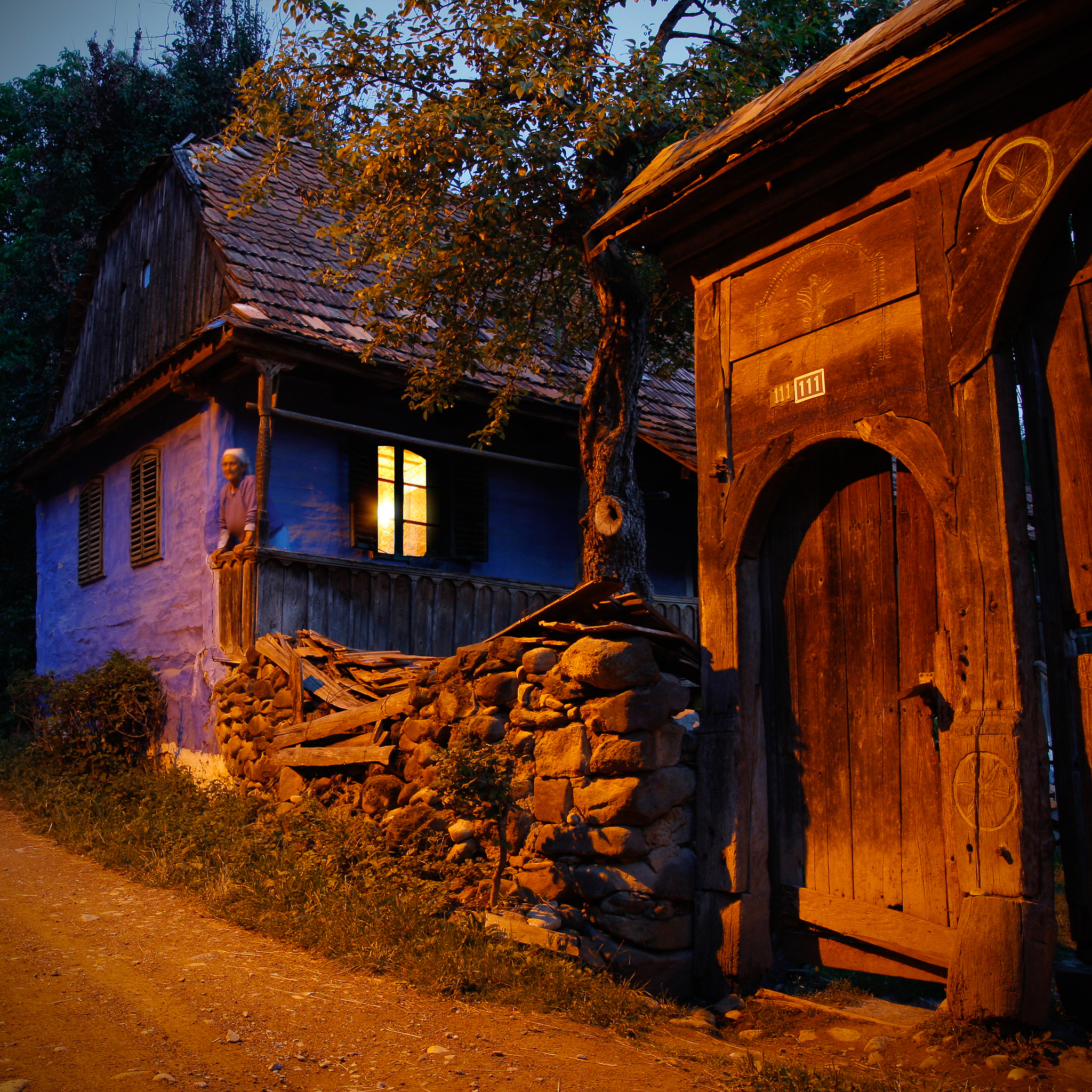 Village of Szekler Gates