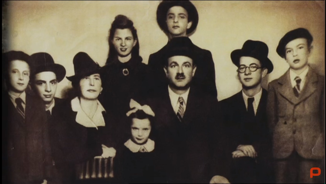 The Lebowitz family in Arad