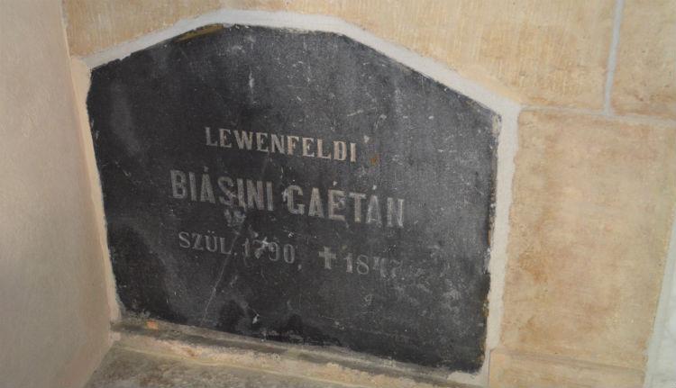 Gaetano Biasini grave