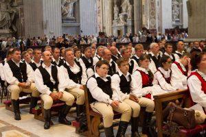 Mass Inside St Peter's Basilica