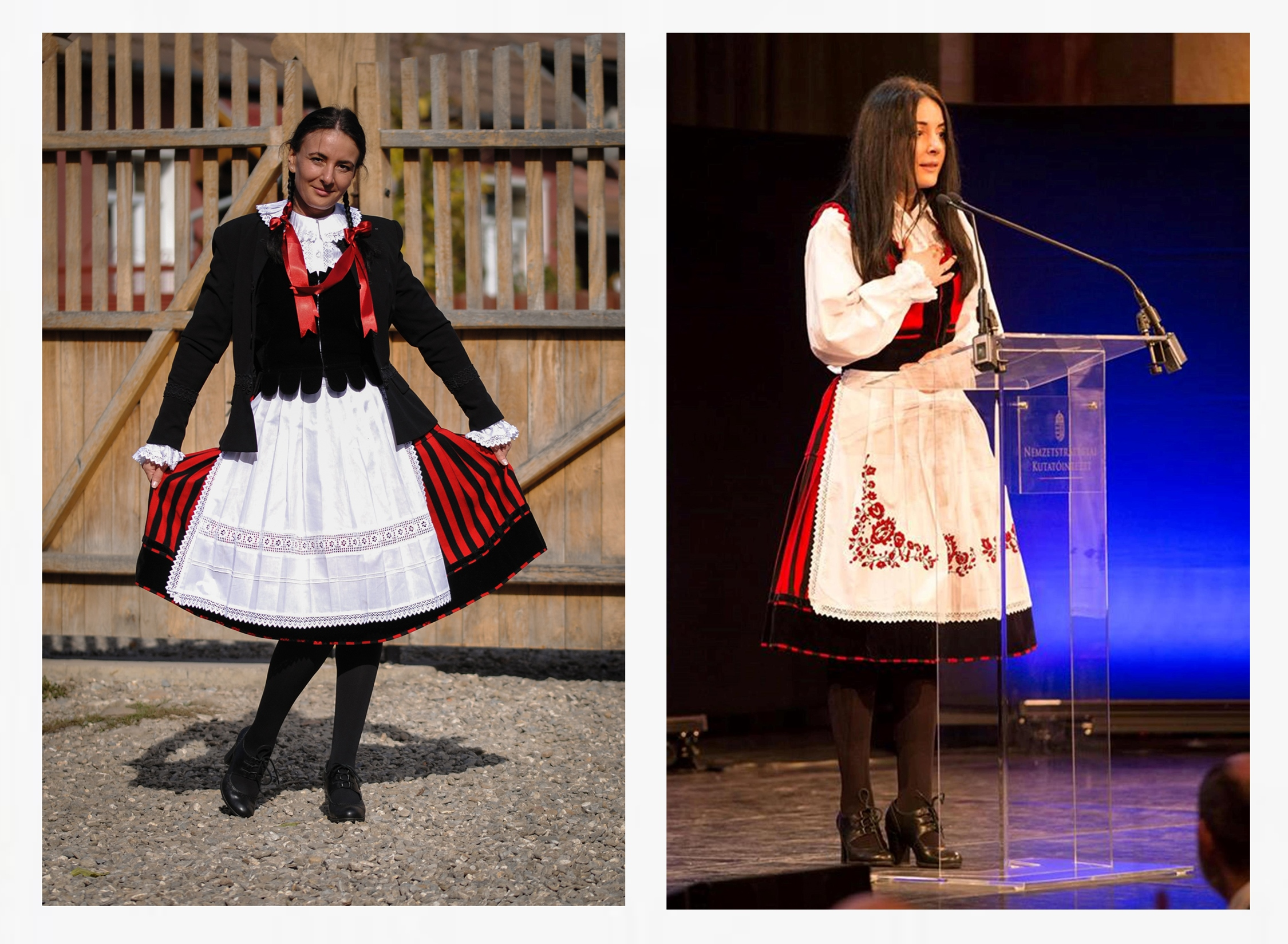 Traditional Szekler Folk Costume