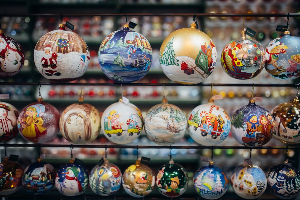 Handmade Christmas Ornaments Decorated With Love From Transylvania