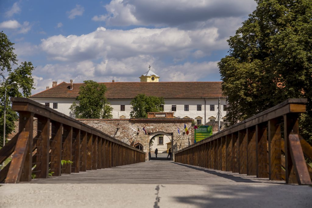 The fortress of Nagyvárad
