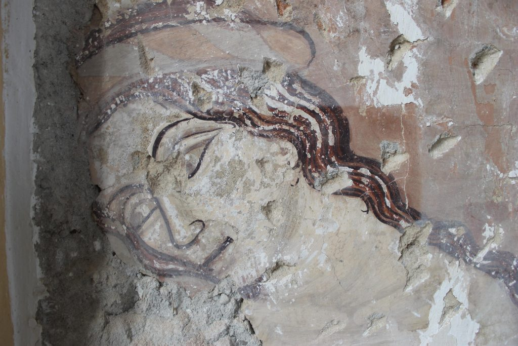 Saint Ladislaus fresco