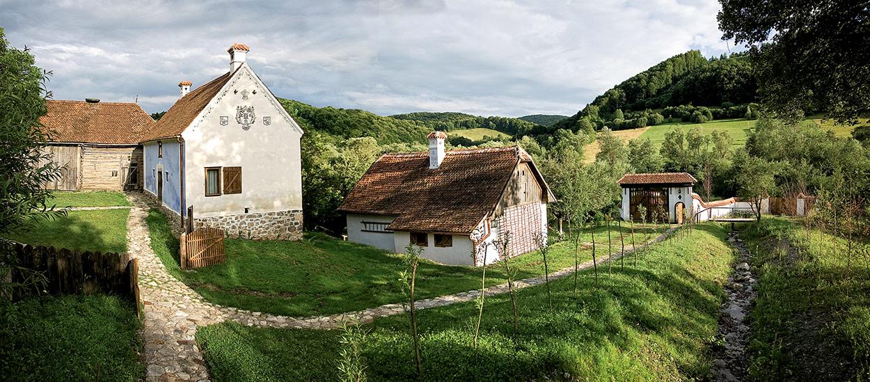 Prince Charles' property in Zalánpatak