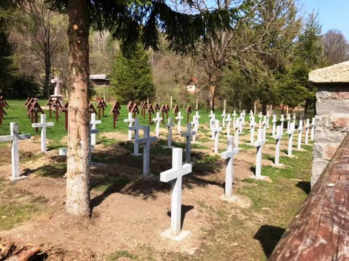 Hungarian Military Graveyard in the Úz Valley