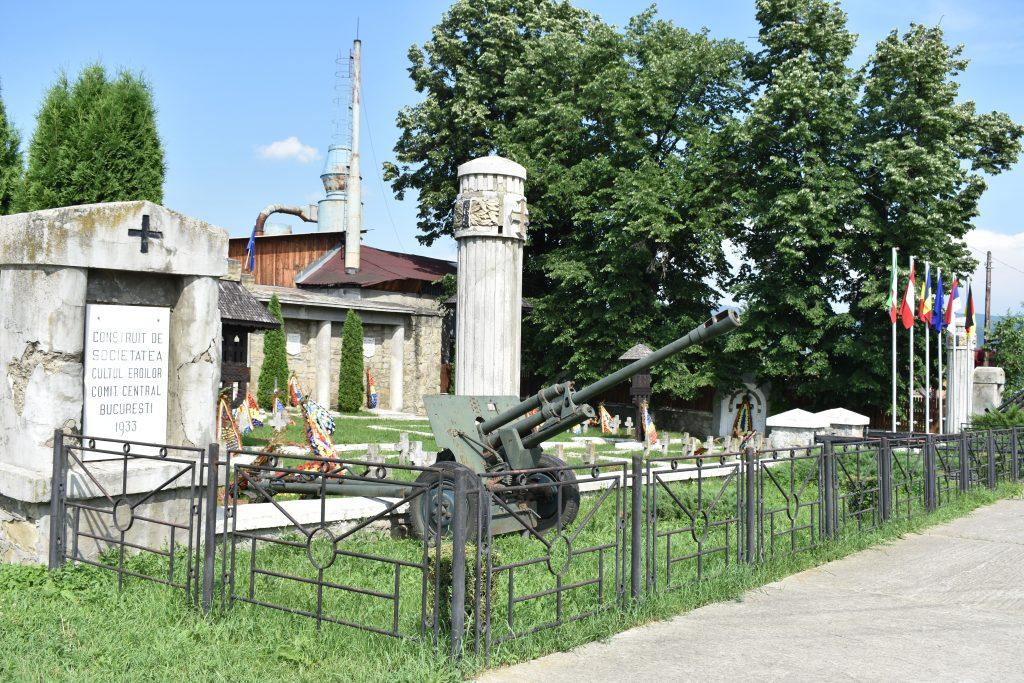 Graveyard in Comănești