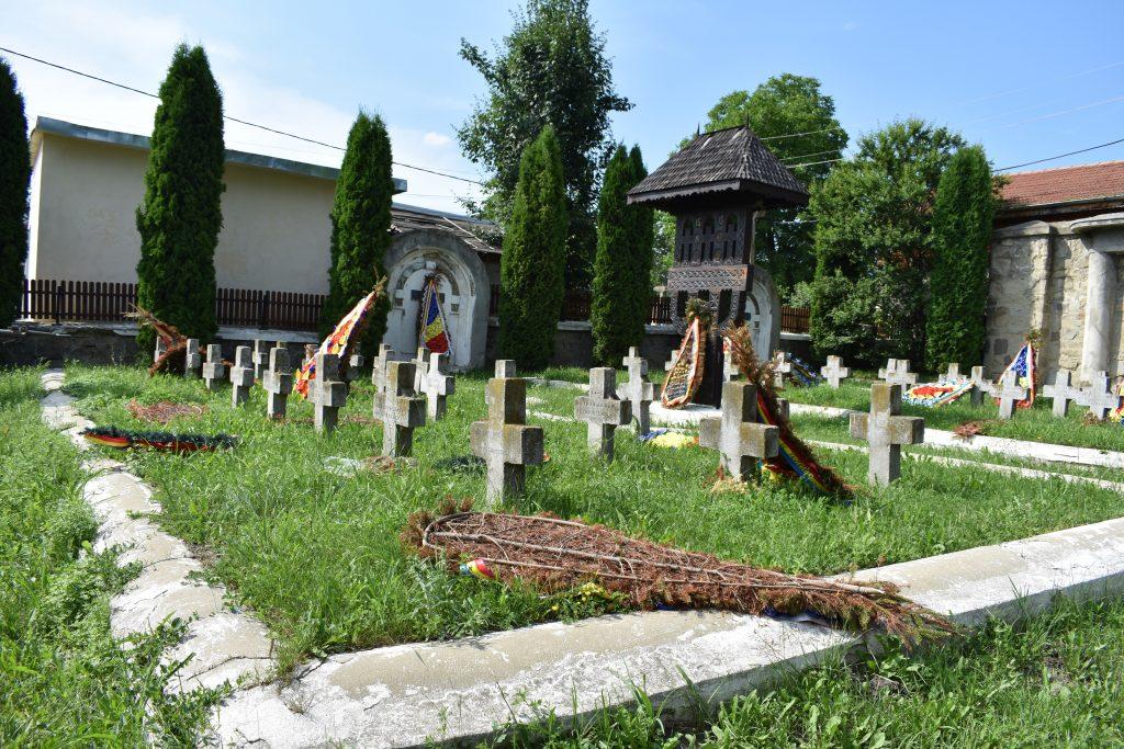 International military graveyard