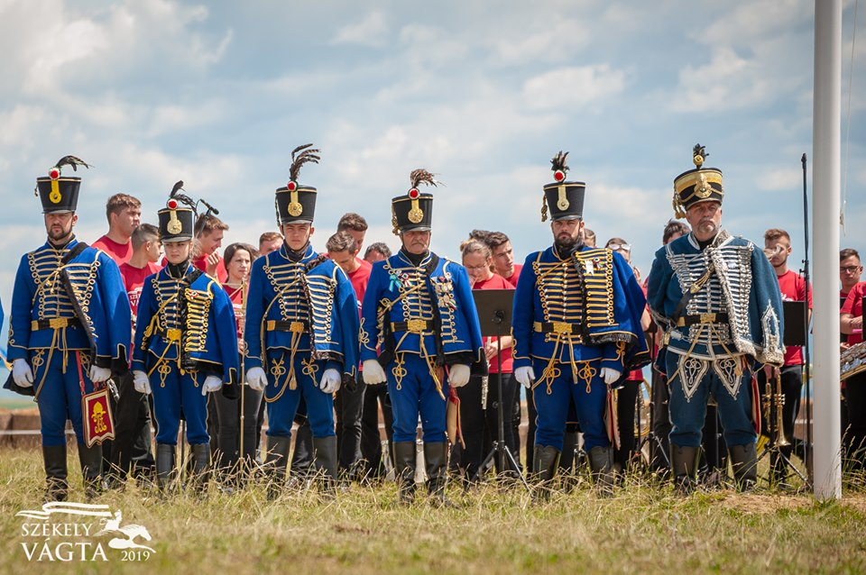 Hussars at the official opening