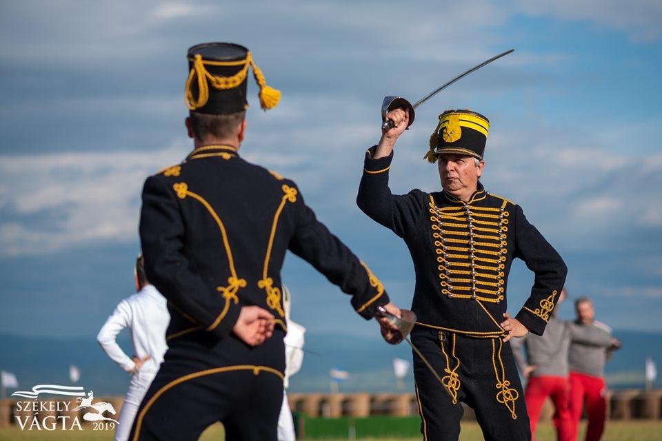 Hussar demonstration
