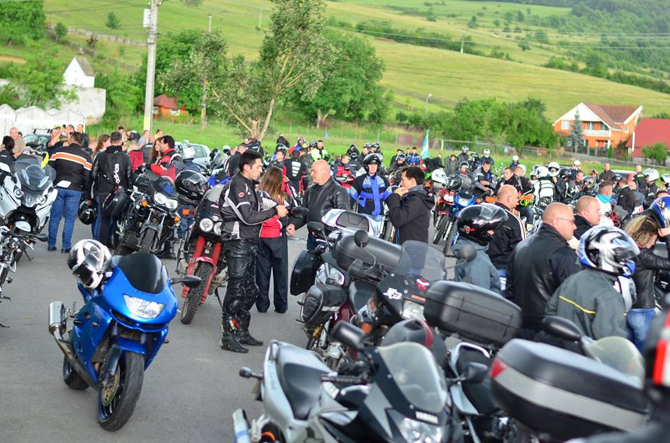 Photo from last years festivals biker parade. Photos: Facebook/SZMÖ