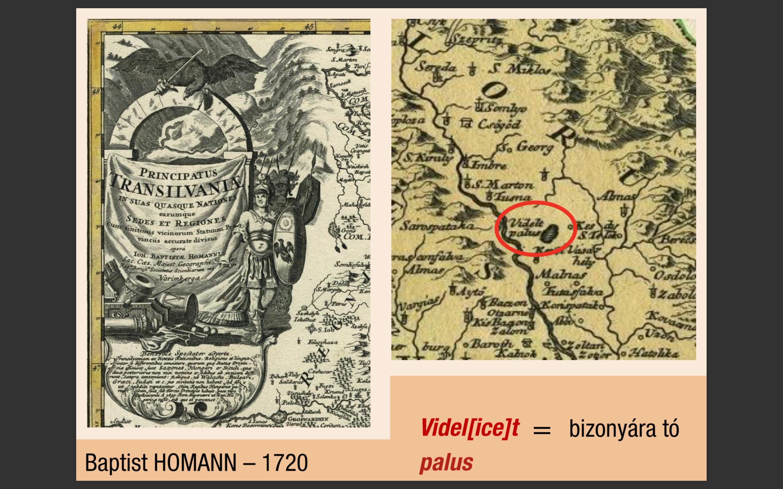 Baptist Homann's map