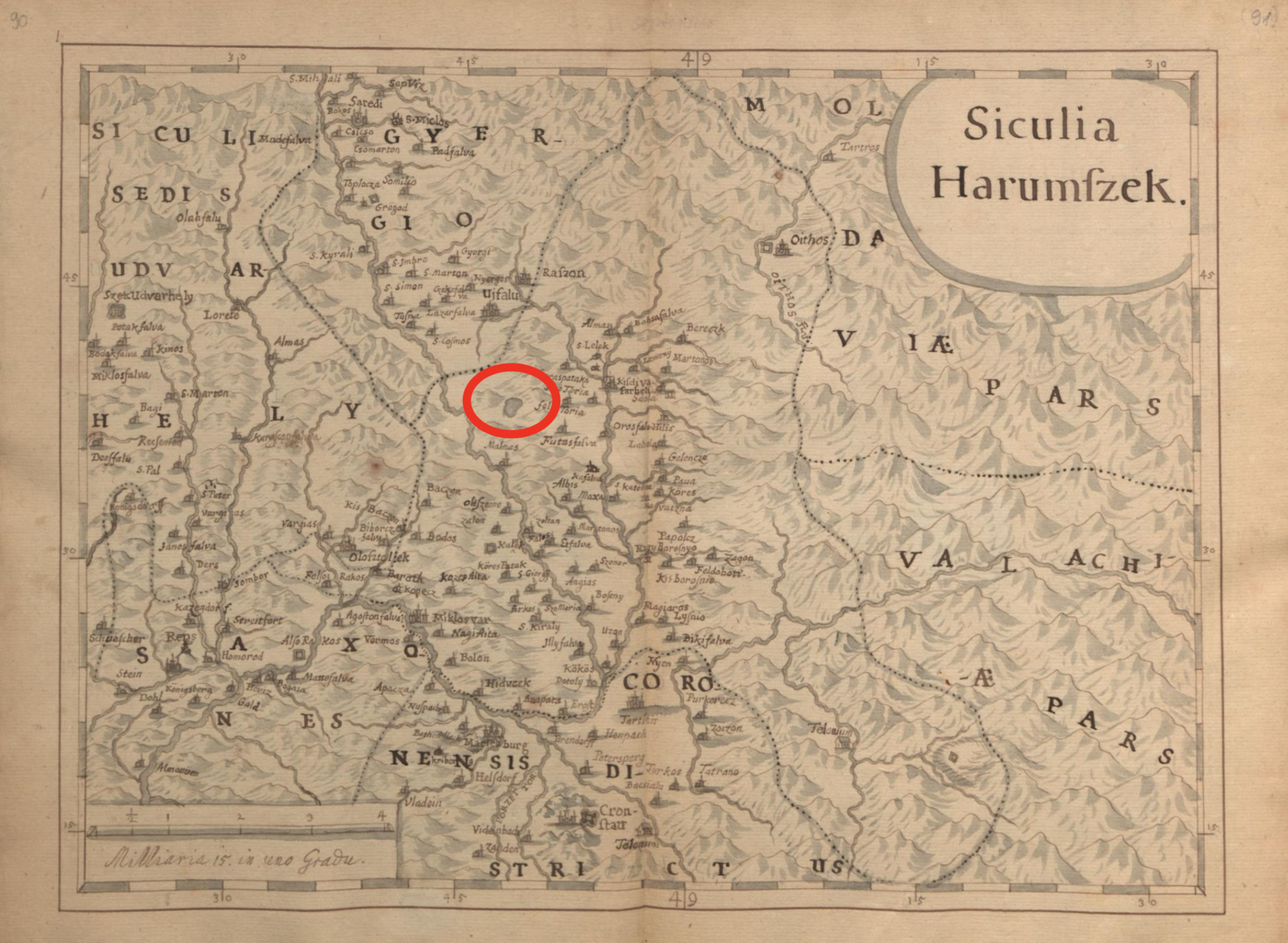 Map from Jesuit priest