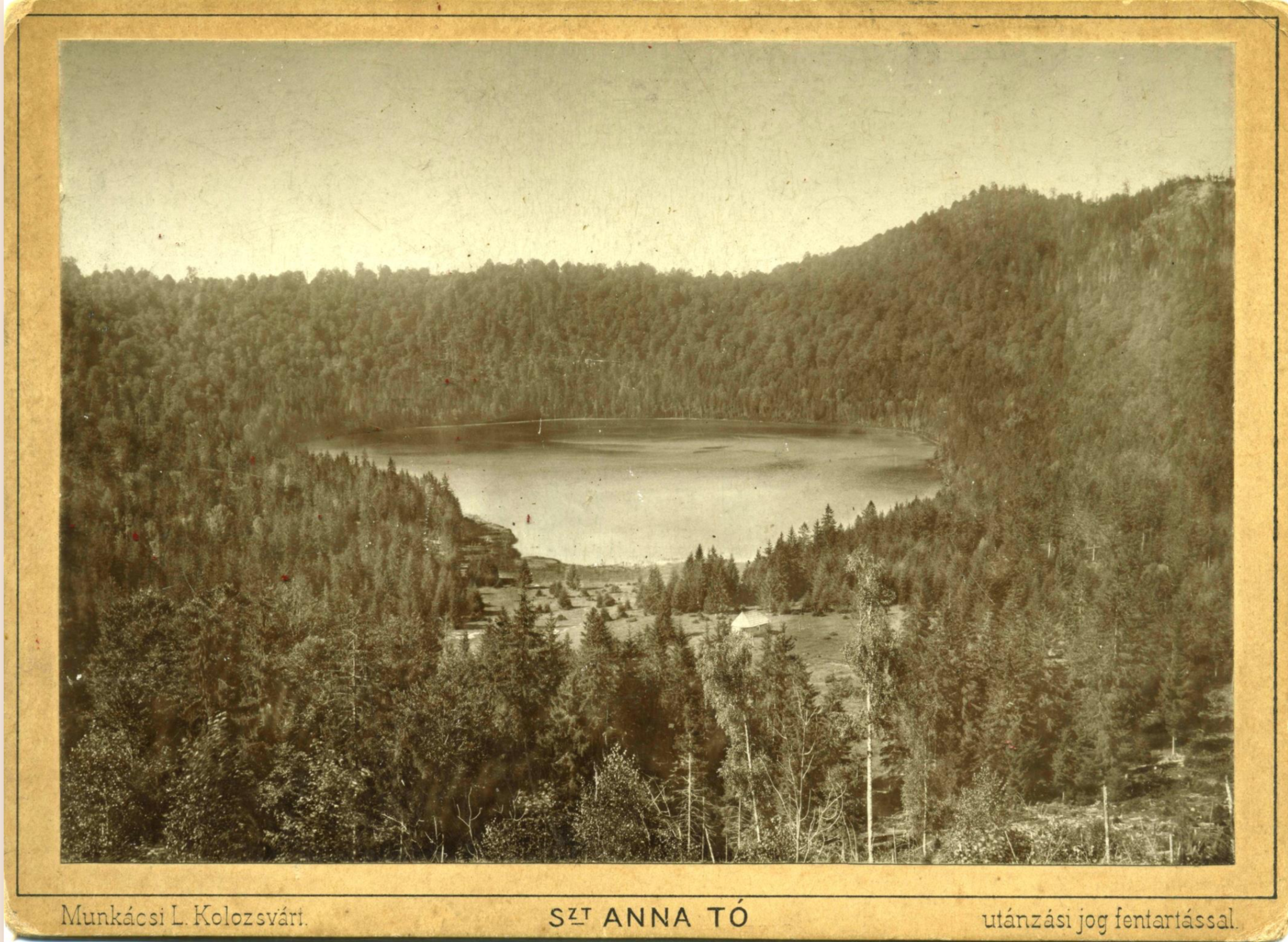 Postcard from Lake St. Anne