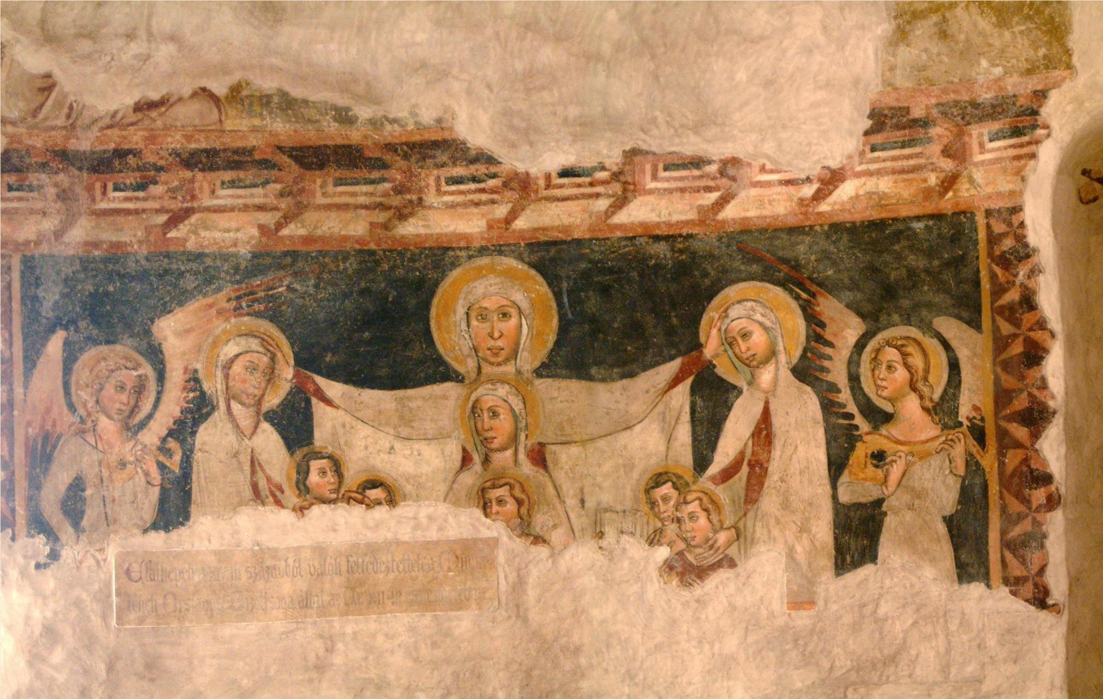 Saint Anne fresco
