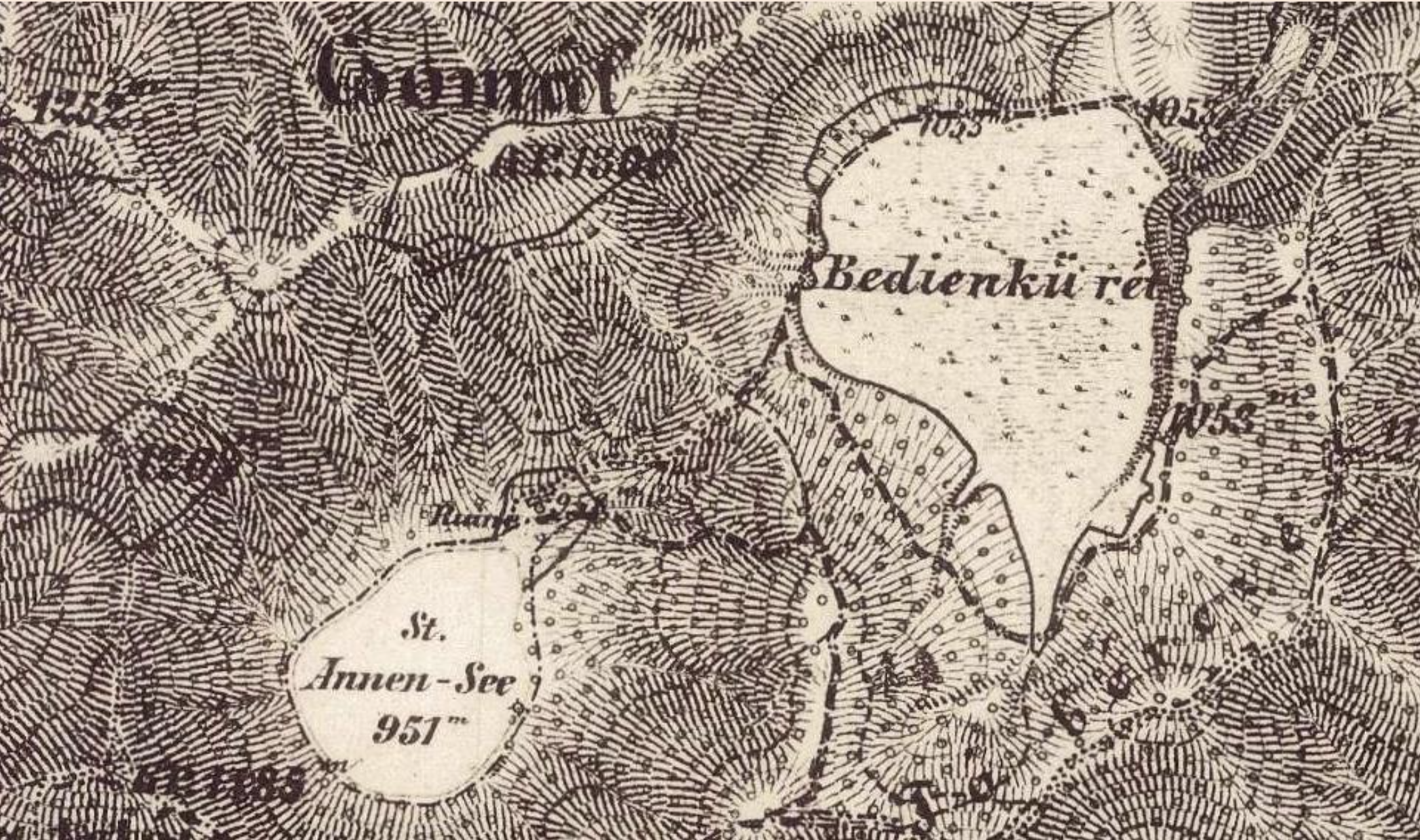The second military map