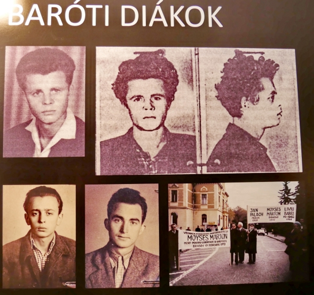 Photos of the Barót Students