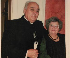 Attila Bordás and his wife