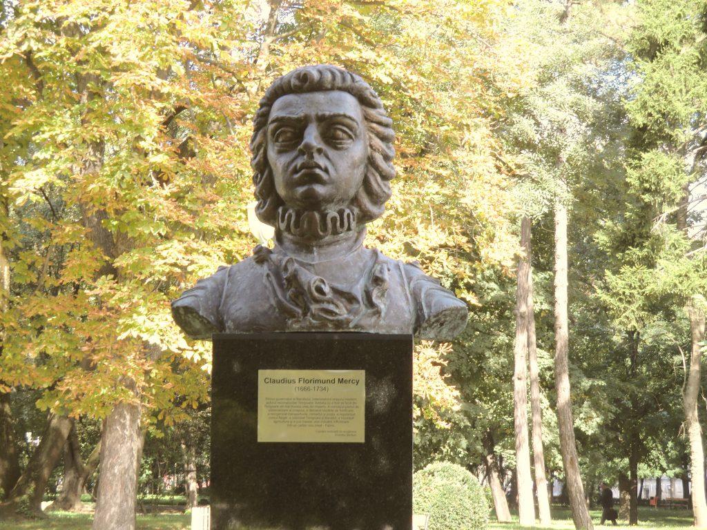 Bust of Florimond Mercy
