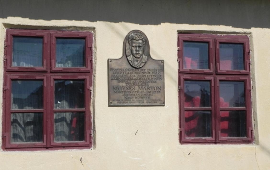 Memorial Tablet of Márton Moyses Márton