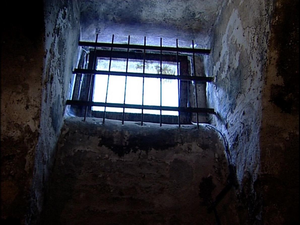 Szamosújvár prison cell