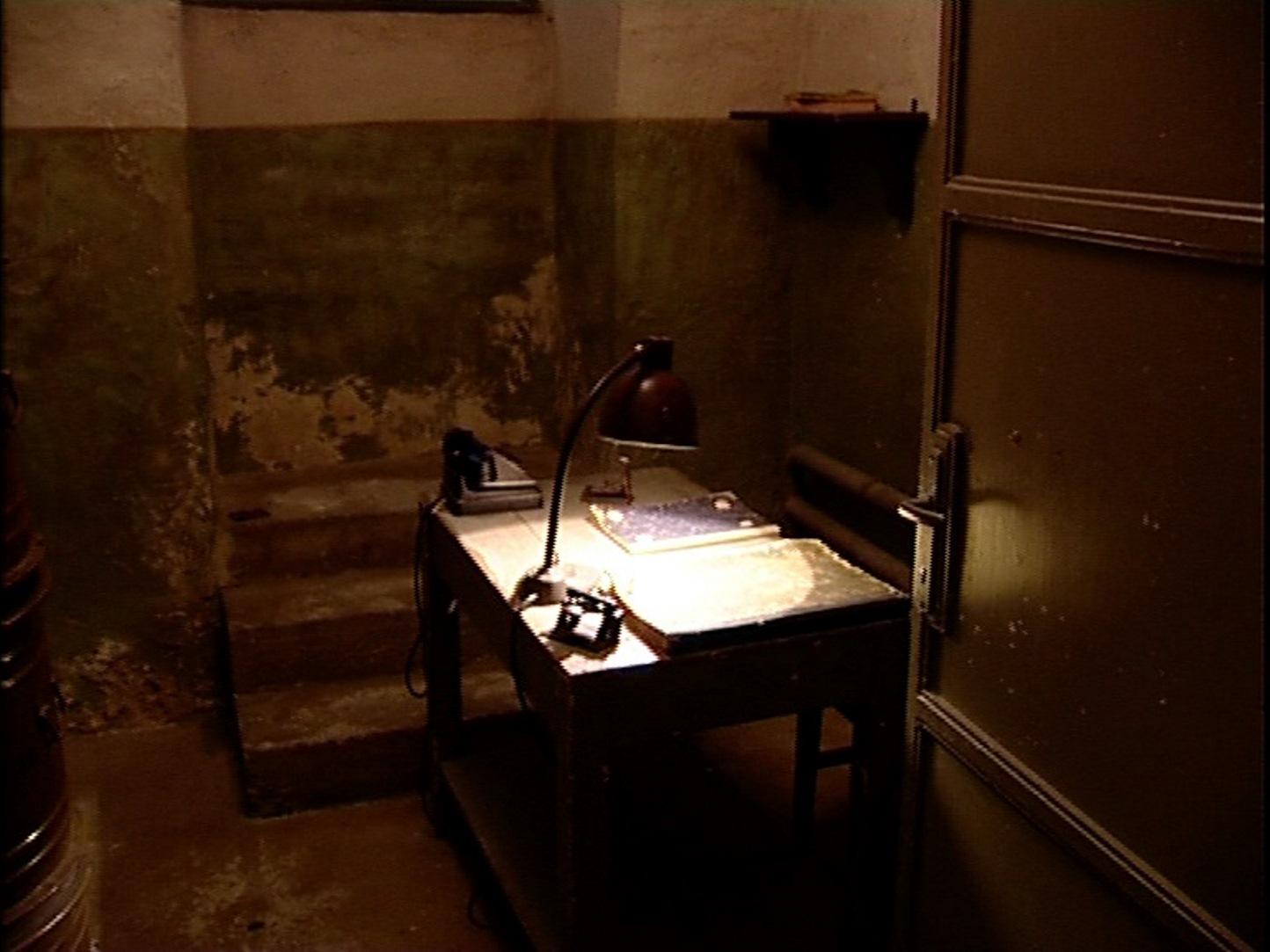 Reconstructed interrogation room