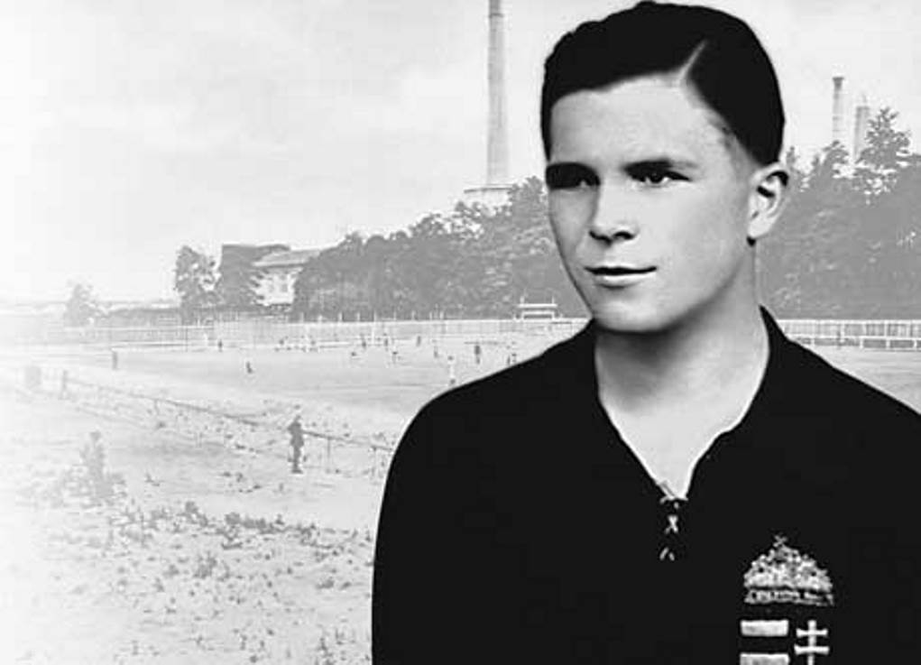 Young Ferenc Puskás