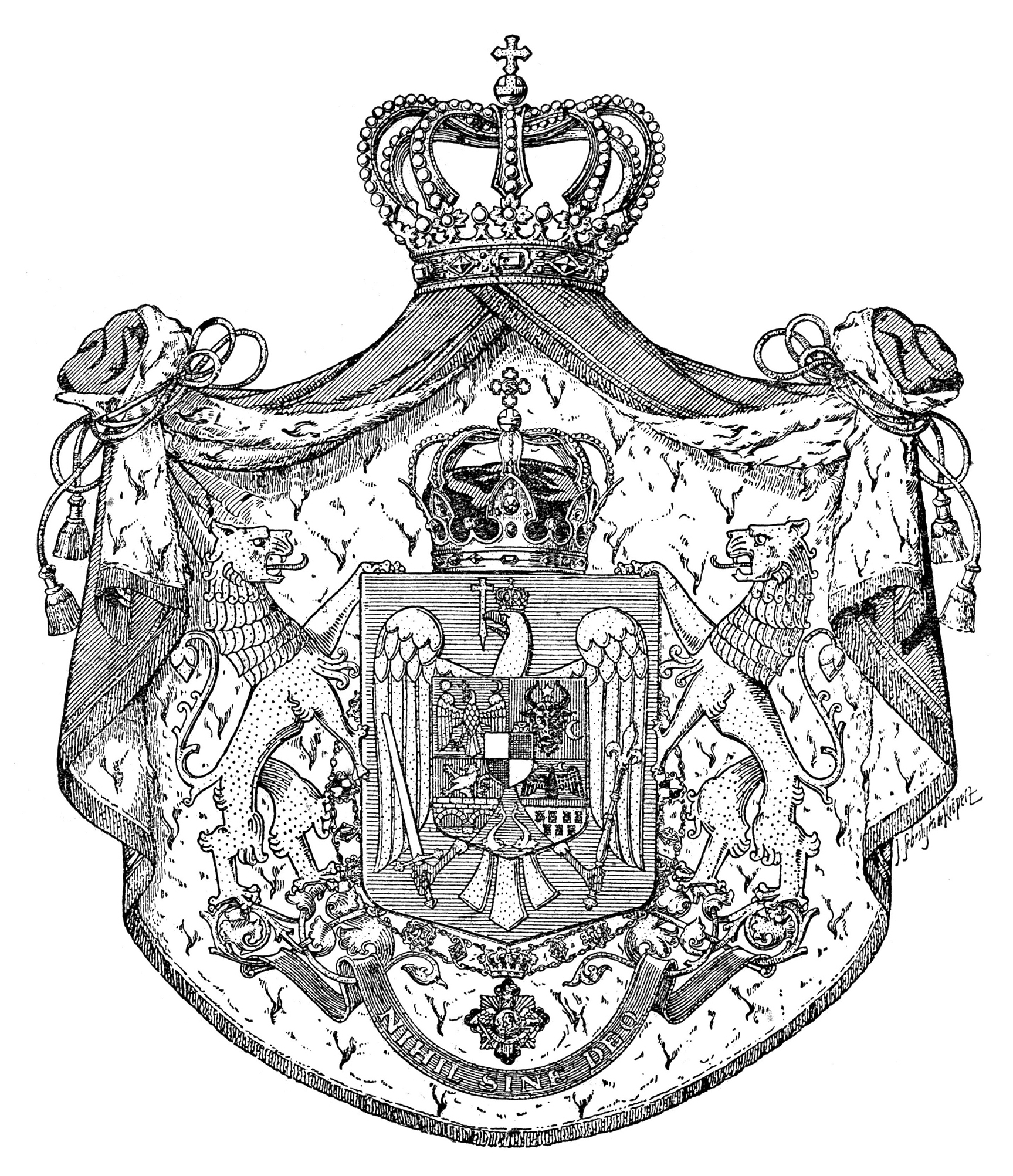 Enlarged Coat of Arms from 1921