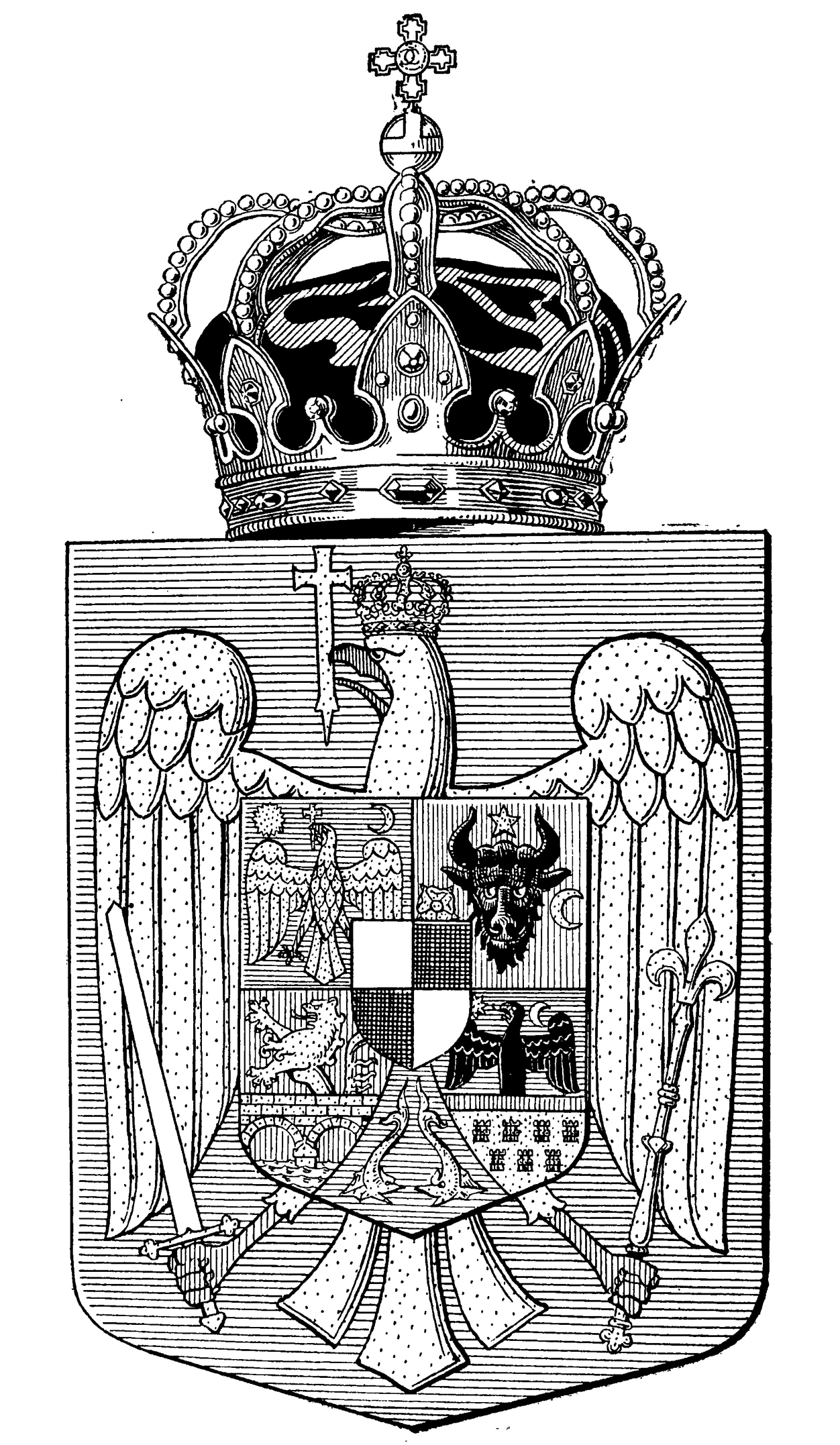 Coat of Arms of the House of Hohenzollern