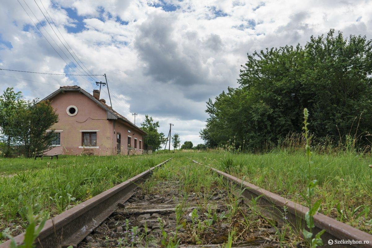 Railway in Maros County