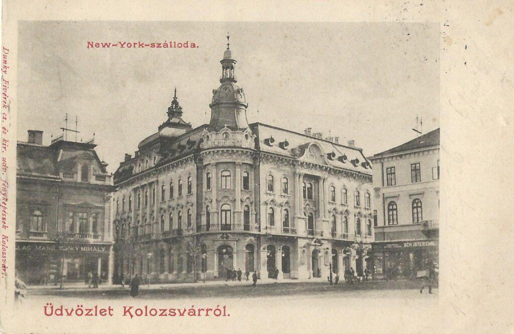 New York hotel in Kolozsvár