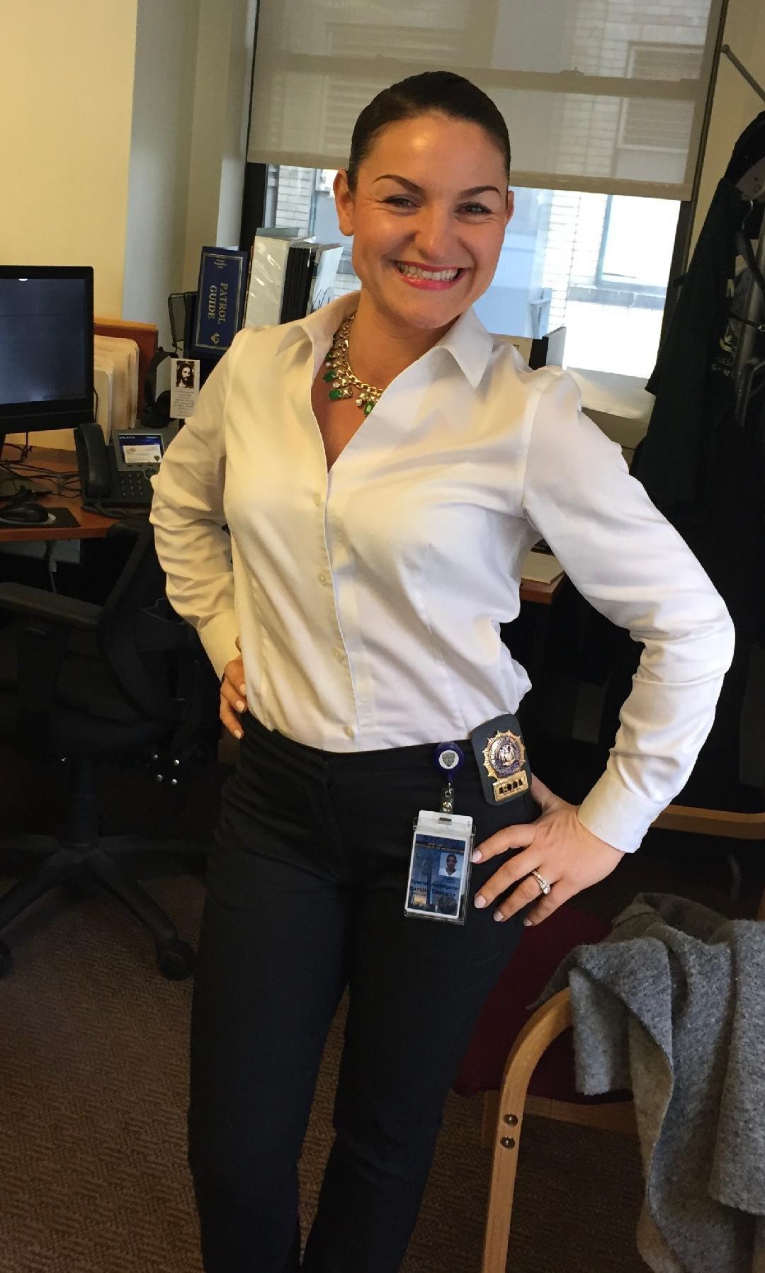 Szekler Woman Joins NYPD