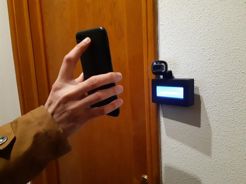 Door Scanner at Smart Hotel