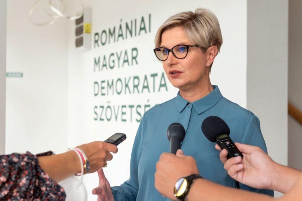 Csilla Hegedüs spokesperson of RMDSZ