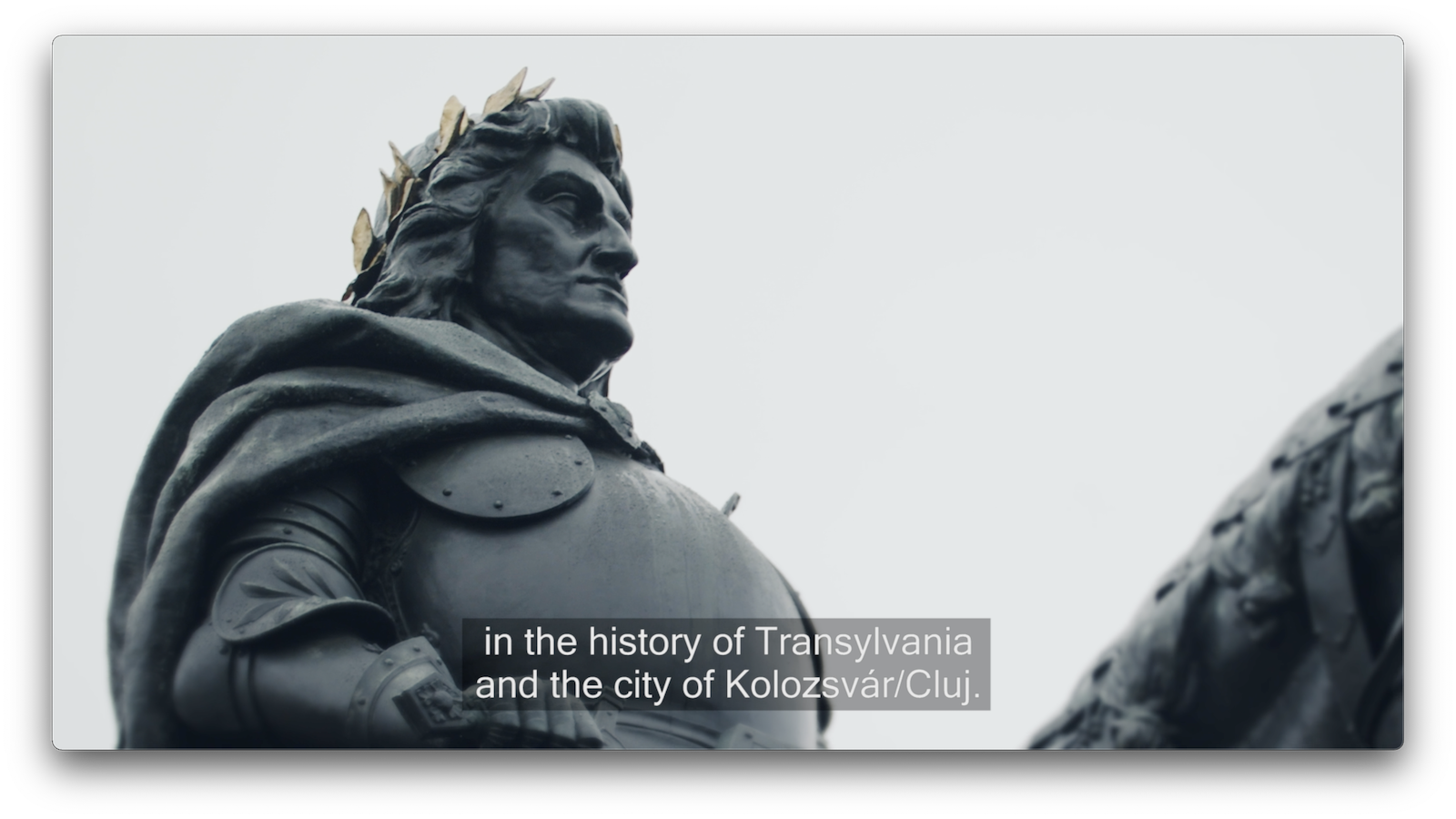 The King Matthias Corvinus Statue