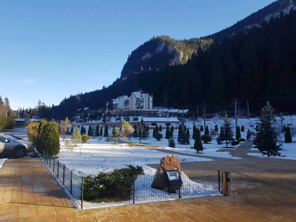The Gyilkos-tó hotel and restaurant