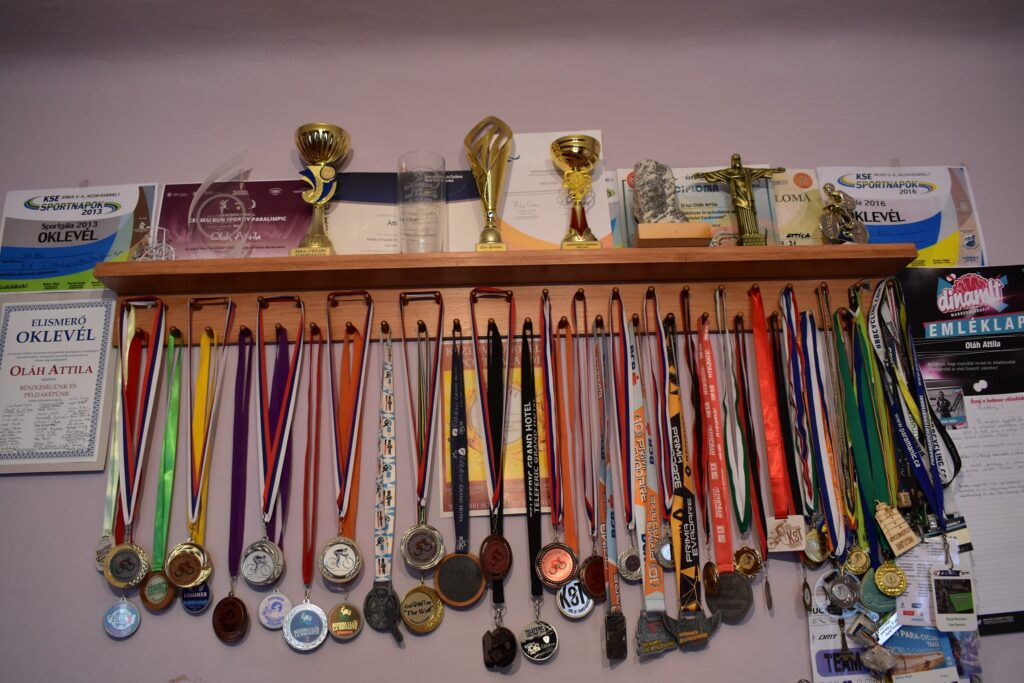 Oláh's medals