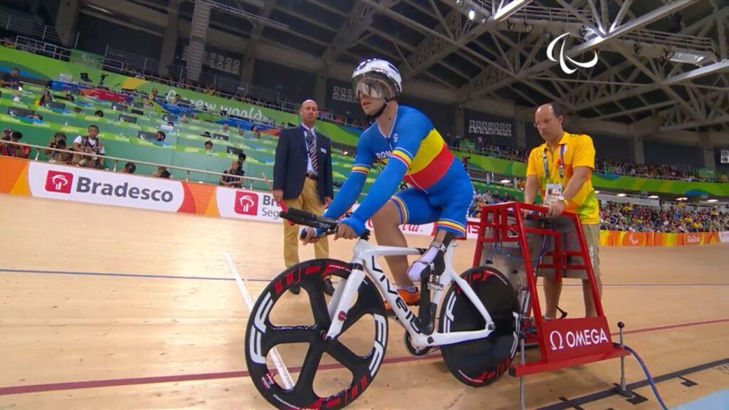 Attila Oláh at Paralympics