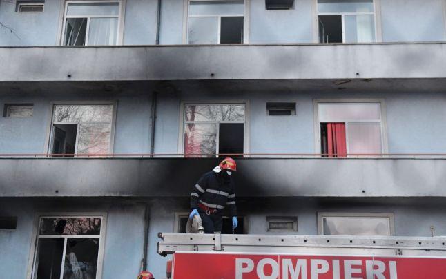 Bucharest hospital fire