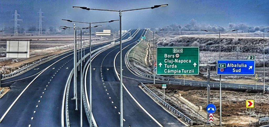 Highway to Cluj-Napoca