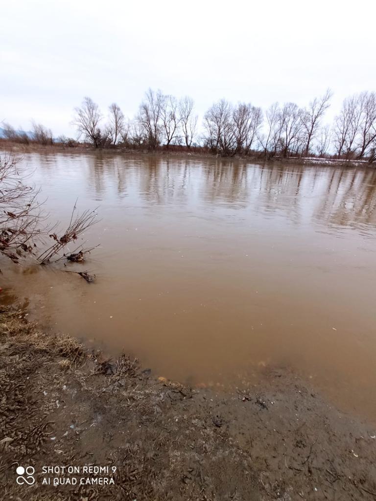 Szamos River near Nagysikárló