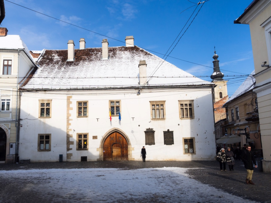 Birthplace of Mathias Corvinus