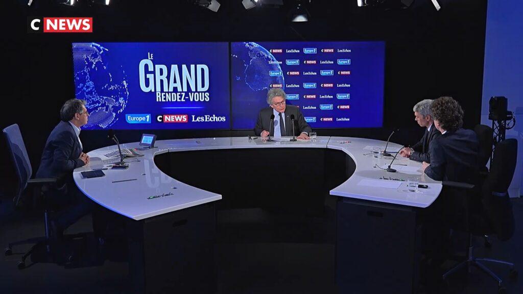 Thierry Breton discussing Green Passport