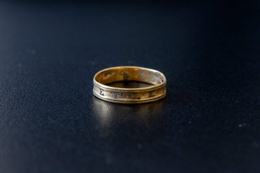 The wedding ring of Zsófia Bethlen